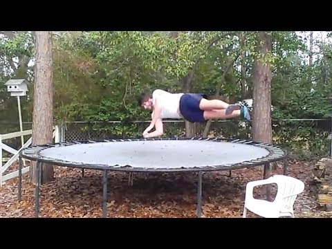 Snow and Icy Trampolines Compilation 2018 [NEW]