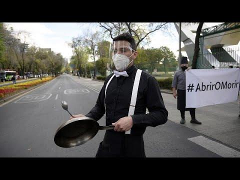 Protestas de la hostelería en México