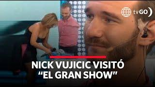 Australiano Nick Vujicic se presentó en 'El Gran Show' y dio una gran lección de vida