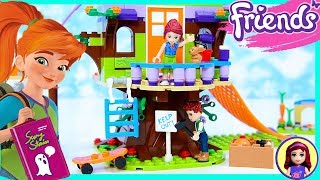 Lego Friends Mia's Tree House Sleepover Silly Play Build Kids Toys
