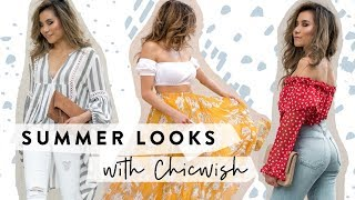 Summer Fashion Lookbook with Chicwish | Summer Outfit Ideas | Miss Louie