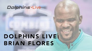 Head Coach Brian Flores meets with the media at the 2019 NFL Combine | Dolphins Live