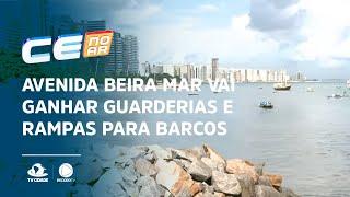 Avenida Beira Mar vai ganhar guarderias e rampas para barcos de pescadores