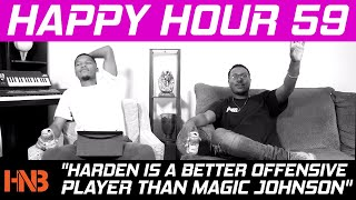 Happy Hour 59: Harden is a Better Offensive Player Than Magic