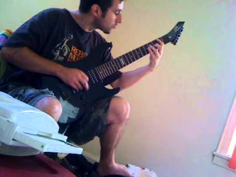 Asesino Despedazando Muertos guitar cover
