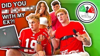 INSANE LIE DETECTOR GAME WITH LOGAN PAUL & TEAM 10!!
