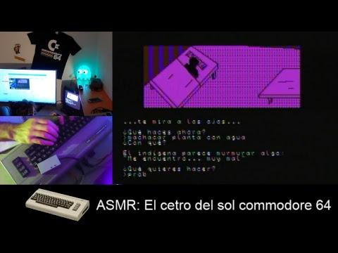 ASMR: El cetro del sol commodore 64