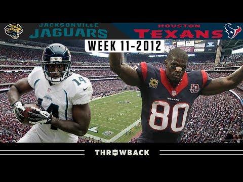 Texas Scoring Marathon! (Jaguars vs. Texans 2012, Week 11)
