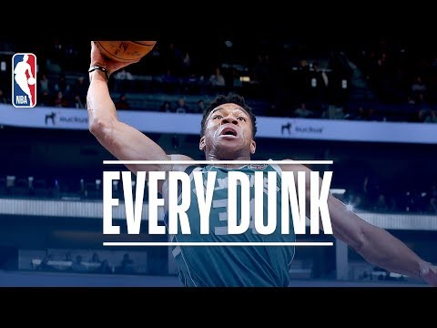 Giannis Antetokounmpo, J.R. Smith, and Every Dunk From Tuesday Night | November 28, 2017