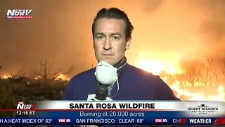FNN: Massive Santa Rosa fires, Anaheim Hills Canyon Fire 2, White House vs. NFL showdown
