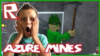 Azure Mines / Found an Emerald / Roblox