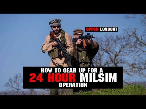 How To Gear Up For A 24 Hour MilSim Game | Part 1 | Research & Planning OPFOR Loadout