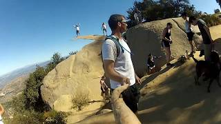 Getting to Potato Chip Rock