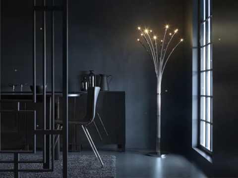 Glows like fireflies - HOVNÄS floor lamp