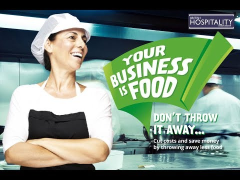 Your Business is Food - helping businesses reduce food waste from kitchen through to plate