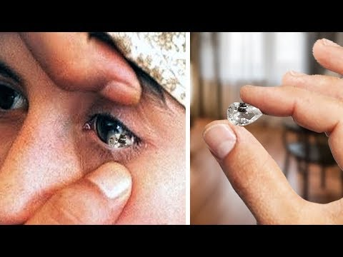 She Cries Pure Diamonds. You'll Be Shocked When You Find out Why