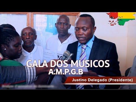 Justino Delgado ( Presidente de Associação dos Músicos Profissionais da Guiné-Bissau) & Face Tv