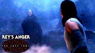 Star Wars The Last Jedi Trailer - Rey's Anger To Luke & More!