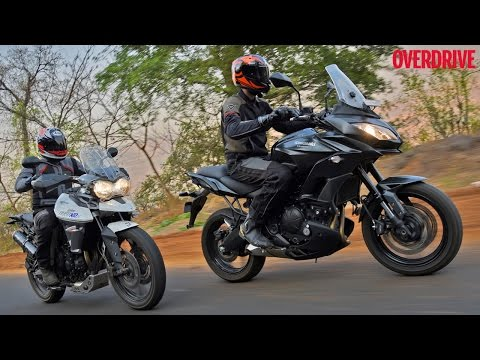 Kawasaki Versys 650 vs Triumph Tiger 800 - Comparative Review