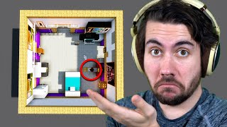 100 People Build the Room They Are Currently Sitting In | 100 Minecraft Builders