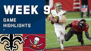 Saints vs. Buccaneers Week 9 Highlights   NFL 2020