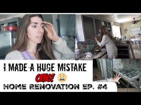 I MADE A MISTAKE | RENO HOUSE UPDATE #4 | Momma from scratch