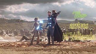 Thor arrives in Wakanda: Best scene in Avengers Infinity War