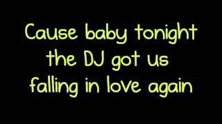 DJ Got Us Falling in Love - Usher Lyrics ft. Pitbull