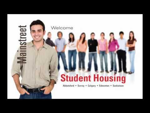 Mainstreet Student Housing Canada