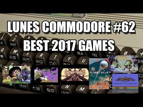 BEST 2017 COMMODORE GAMES: LUNES COMMODORE #62