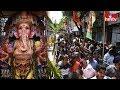 Utsava Committee Member Face to Face | Huge Devotees Huge Rush At Khairatabad Ganesh Idol | hmtv