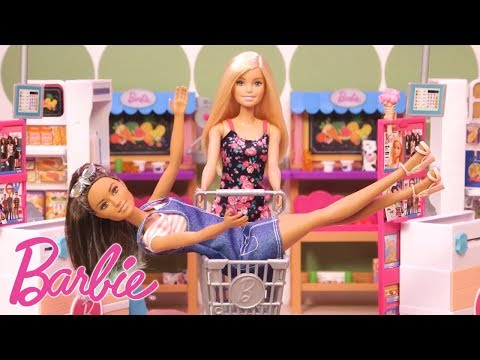 Die Supermarkt Challange! 💖Barbie Puppen 💖Barbie Videos