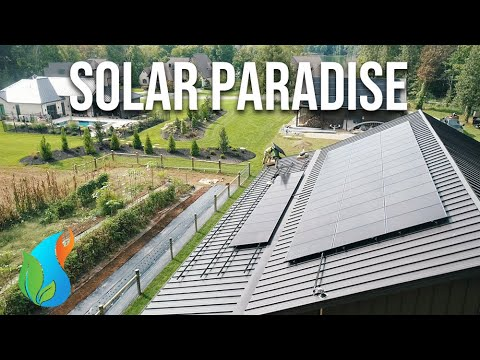 Filling up the roof with Solar!