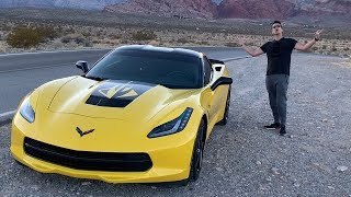 The American Muscle - Corvette Stingray Review w/ Mods (Startup Engine, In-depth)