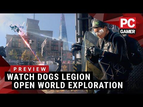 Exploring Watch Dogs Legion's open world