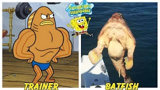 SpongeBob Squarepants Characters in Real Life