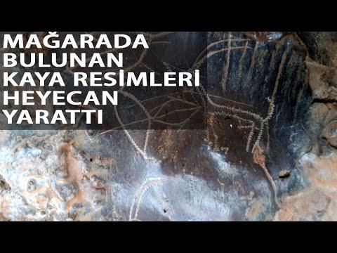 Mağarada 8 Bin Yıllık Kaya Resimleri Bulundu
