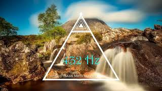 432 Hz Tuning Music for Healing, Nikola Tesla 369 Code Music with Sub Bass Pulsation