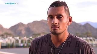 Day 9 Interview: Nick Kyrgios 'Very Happy' with Performance