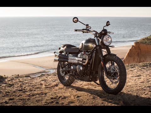2017 Triumph Street Scrambler First Ride - Cycle News