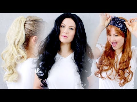 Trying On SUPER CHEAP Wigs From WISH APP | Milabu