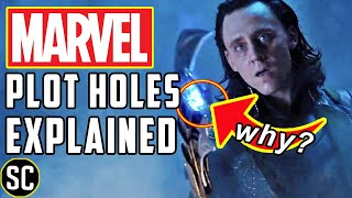 Marvel Plot Holes EXPLAINED | Why Did Thanos Give Away an Infinity Stone?