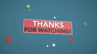(BEST) ★ Top 5 FREE Outro Templates ★ - AFTER EFFECTS, SONY VEGAS, CINEMA 4D