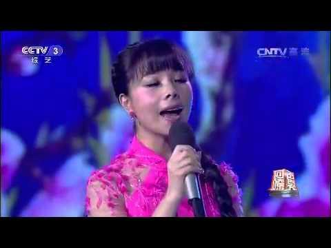 20150130 回声嘹亮 歌曲桃花红杏花白 演唱:王二妮