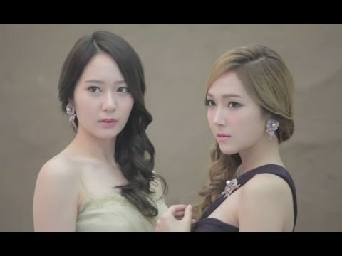 [HD Video] 131008 SNSD Jessica and f(x) Krystal - STONEHENgE 'The Masterpiece' Making Film