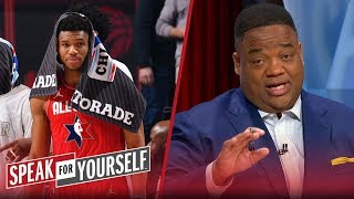 Giannis was disappointing in 4th quarter of NBA All-Star game — Whitlock | NBA | SPEAK FOR YOURSELF