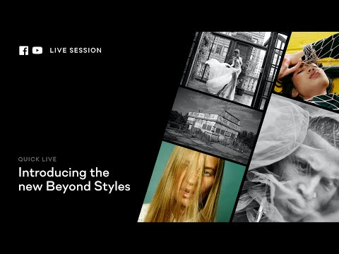 Capture One 20 | Quick Live : Beyond styles