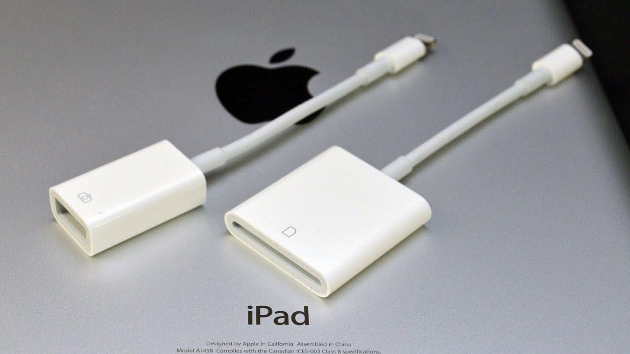 Apple Ipad Lightning To Usb Camera Adapter Amp Sd Card