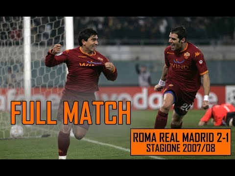 VIDEO - Roma-Real Madrid 2-1, 19 febbraio 2008: la partita integrale
