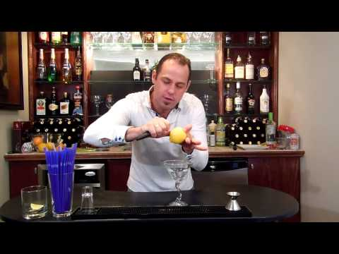 How to Zest a Lemon | Adding a Lemon Zest to Martinis